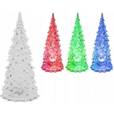 Goleto Vánoční svítící stromeček 12,5 x 6 cm | 2 kusy