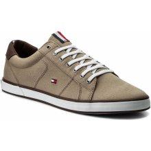 07b26b61f22 TOMMY HILFIGER Iconic Long Lace Sneaker FM0FM01536 Cobblestone 068