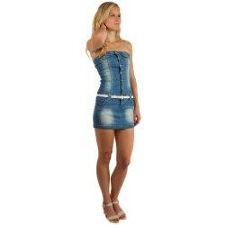 a53587f50f8a Filtrování nabídek TopMode džínové šaty na knoflíky s páskem ...