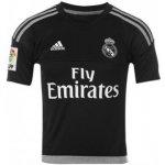 Adidas Real Madrid Home Shirt 2015 2016 Junior Goalkeeper Black/Grey