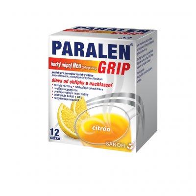 Paralen Grip Horký Nápoj Neo 500 mg/10 mg scc.12