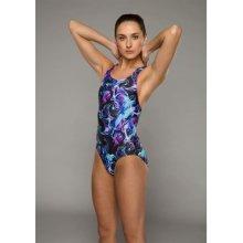 Maru Vault Back Swimming Costume Ladies Parrot