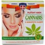 Herbal Therapy Cannabis pleťový krém s konopným olejem 50 ml