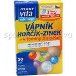 Maxivita Vápník Hořčík Zinek 30 tablet