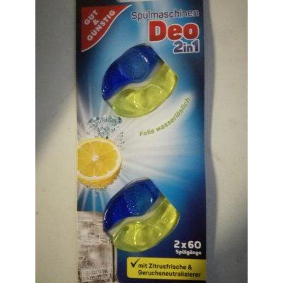G&G Osvěžovač do myčky nádobí 2v1 s vůní citrusů 2 ks