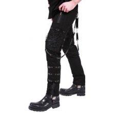 Gotické kalhoty pánské s pavučinou