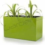 G21 Samozavlažovací květináč Combi zelený 56 x 28cm
