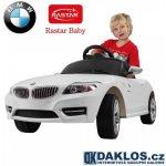 RASTAR Elektrické auto Mercedes SLS AMG white