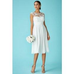 Svatební šaty s výšivkou krátké dámské svatební šaty - Nejlepší Ceny.cz e47da743d0