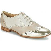 Geox Šněrovací společenská obuv MARLYNA C Béžová f915b2c327