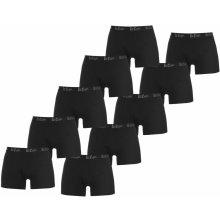 Lee Cooper Hipster Trunks 10 Pack Mens Black