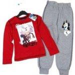 Disney 2set Červené triko s obrázkem Frozen + šedé tepláky