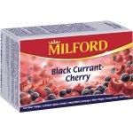 MILFORD Ovocný čaj černý rybíz třešeň 20 x 2,5 g