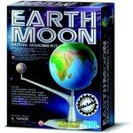 PLAYCO Pohyblivý model Země a Měsíce svítí ve tmě