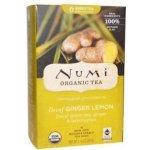 Numi čaj bio Zelený se zázvorem a citronovou trávou 16 sáčků