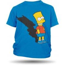 The Simpsons Bart Bad dětské modré tričko