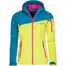 Kilpi dámská lyžařská bunda Safira tyrkysová