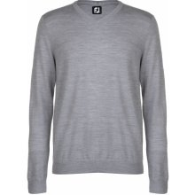 Footjoy Lambs Wool Sweater Grey