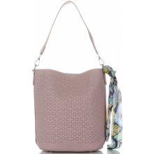 84fe4e5996 David Jones dámské kabelky listonošky s kosmetikou ažurová Prášková růžová