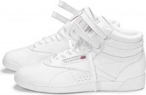 Reebok Freestyle Hi Ladies Trainers White