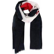 Tommy Hilfiger Dámský bavlněný šátek Chevron Mascot AW0AW06012 tmavě modrá a4257f9366e