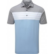 Footjoy Stretch Pique Striped Colour Block