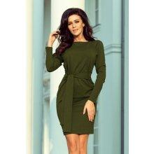 42af836bfa8 Numoco elegantní dámské šaty 209-5 khaki