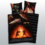 Herding povlečení Star Wars svítící flanel 135x200 80x80