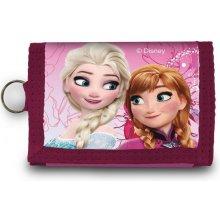 EUROSWAN Peněženka Ledové Království Anna a Elsa růžová