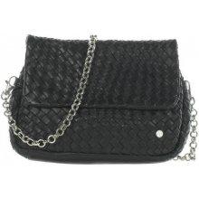 Another bag Sweety Plaited kabelka černá