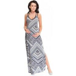 c80e17478697 9fashion kojící a těhotenské maxi šaty Marion šedé od 1 699 Kč ...