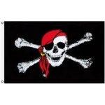 Pirátská vlajka velká