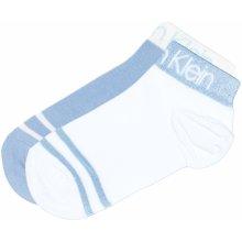 a7eb7a78c Calvin Klein ponožky 2 páry Modrá Bílá dámské