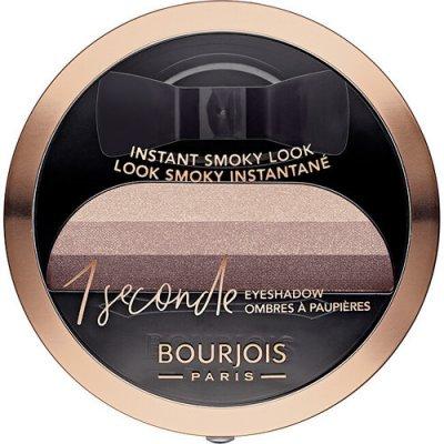 Bourjois Paris 1 Second oční stíny pro kouřové líčení 04 Insaisissa-Bleu 3 g