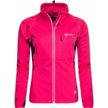 Kilpi dámská technická softshelová bunda TRANSFORMER-W růžová