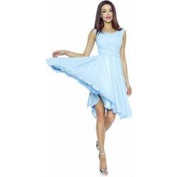 e6ed988e70c8 Kartes Moda šaty dámské KM227-3 šifon světle modrá od 1 400 Kč ...