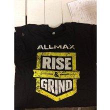 Allmax tričko Bílé