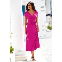 Blancheporte dlouhé šaty s krátkými rukávy indická růžová od 829 Kč -  Heureka.cz 3fbce0b286