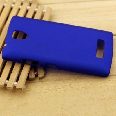 Pouzdro SES Plastové Lenovo A2010 Dual SIM - tmavě modré