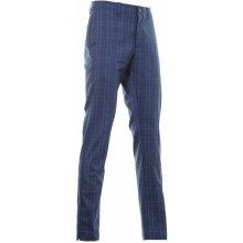 Callaway kalhoty Plaid tmavě modré