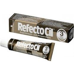 RefectoCil barva na řasy a obočí 3 Brown 15 ml