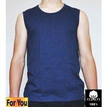 Pánské tričko podvlíkací modré