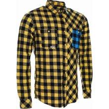 Woox flannel Rider pánská flanelová košile Yellow