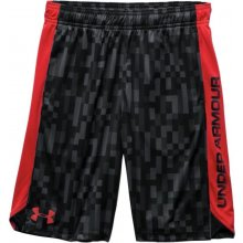Under Armour Eliminator Printed shorts junior Červené