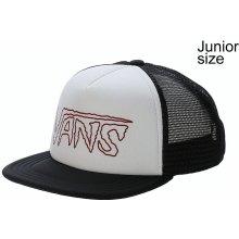 Vans Vans Logo Trucker Youth dětská kšiltovka White Black 1dbf4027b6
