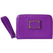ANNA SMITH Malá dámská peněženka s poutkem fialová