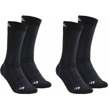 Craft Warm 2-pack Socks Black