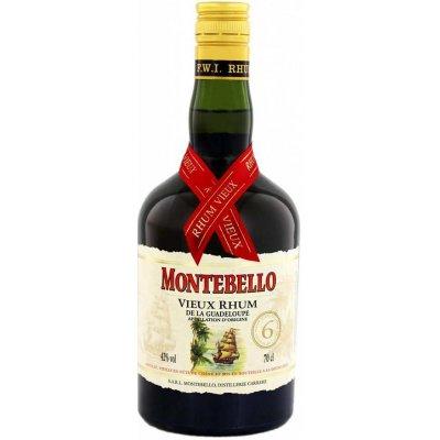Montebello Vieux Agricole 6 Ans d'Age 0,7 l 42 %