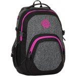 Bagmaster batoh MATRIX 8 A černá šedá růžová