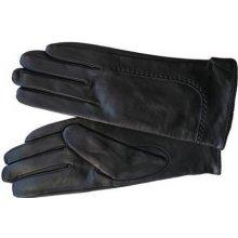 Elega Alecia dámské kožené rukavice černá